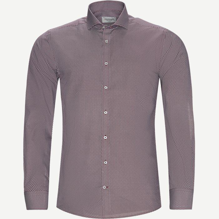 Hemden - Slim - Rot