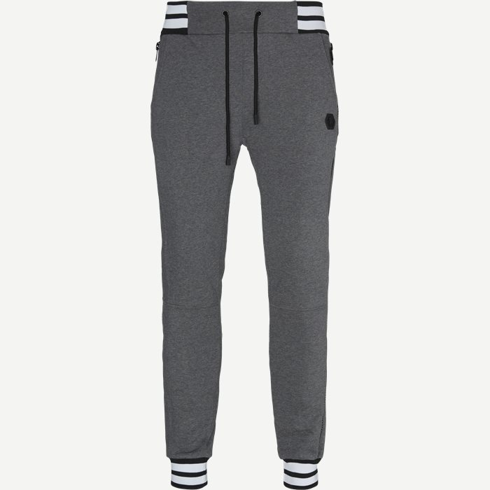 Jogging Trousers - Bukser - Regular - Grå