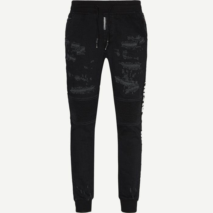 Slim Shady Chill Fit Sweatpant - Bukser - Slim - Sort