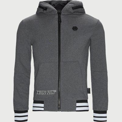 Hoodie Sweatjacket Regular | Hoodie Sweatjacket | Grå