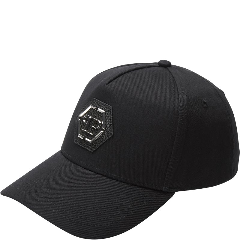 Image of   PHILIPP PLEIN Regular fit UAC0020 LOGO CAP Huer Sort