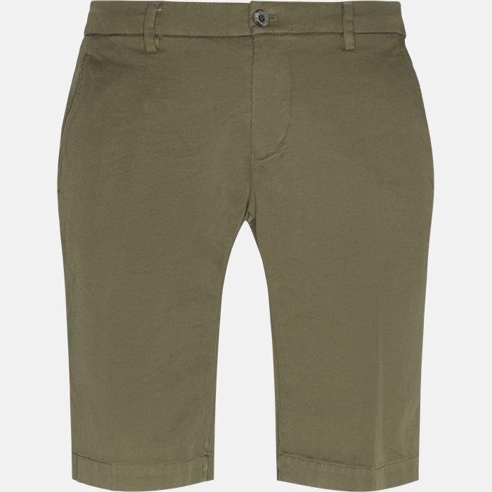 Shorts - Slim - Army
