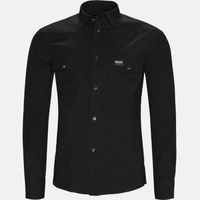 Regular fit | Skjorter | Sort