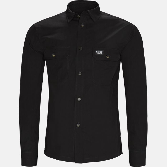 Shirts - Regular fit - Black