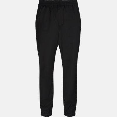 Regular fit | Trousers | Black