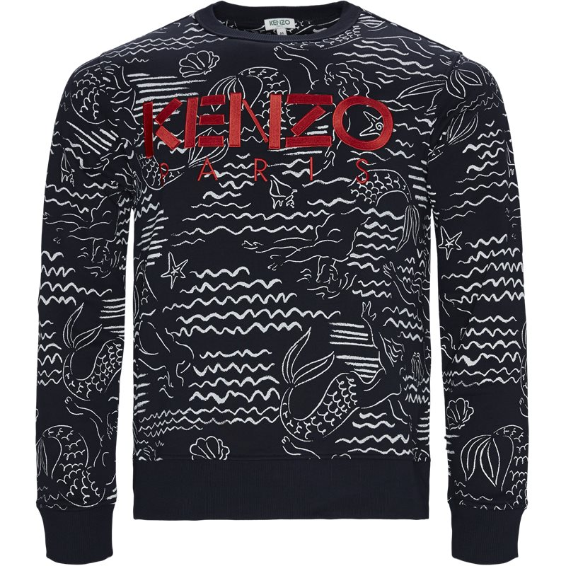 Image of   Kenzo Regular fit FA55SW1224ME Sweatshirts Navy