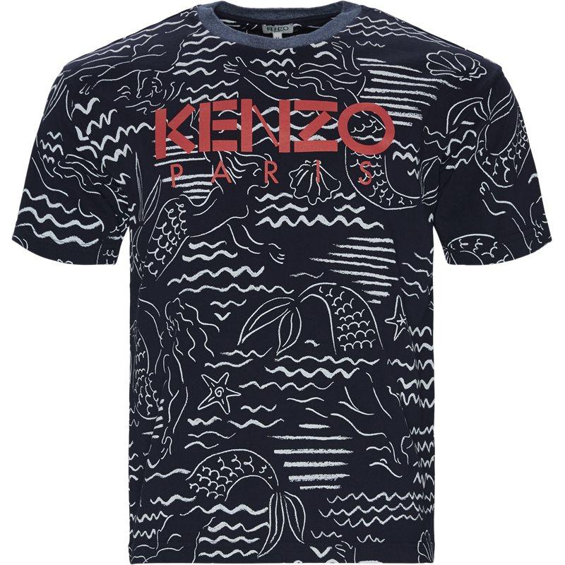 Image of   Kenzo Regular fit FA55TS0434SC T-shirts Navy