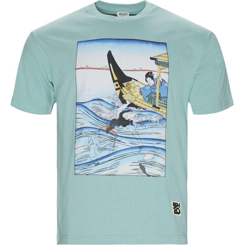 Image of   Kenzo Regular fit FA5TS0434SF T-shirts Mint