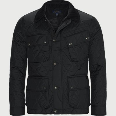 Quilted jacket Regular | Quilted jacket | Sort