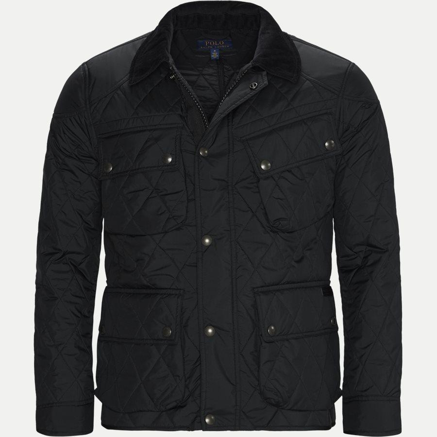 710730008 - Quilted jacket - Jakker - Regular - SORT - 1