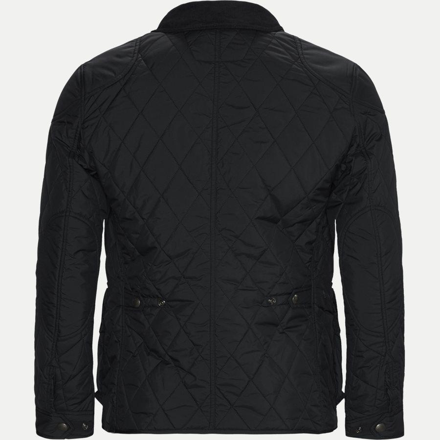 710730008 - Quilted jacket - Jakker - Regular - SORT - 2