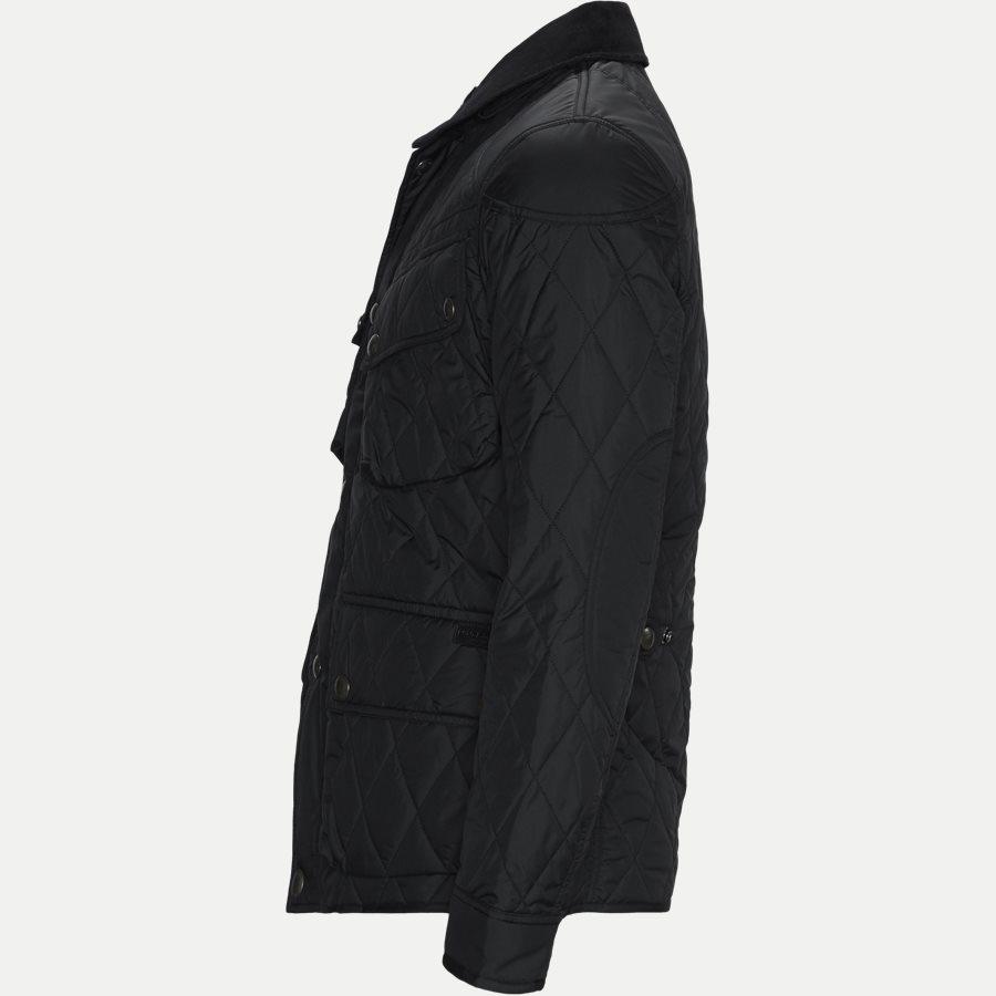 710730008 - Quilted jacket - Jakker - Regular - SORT - 3