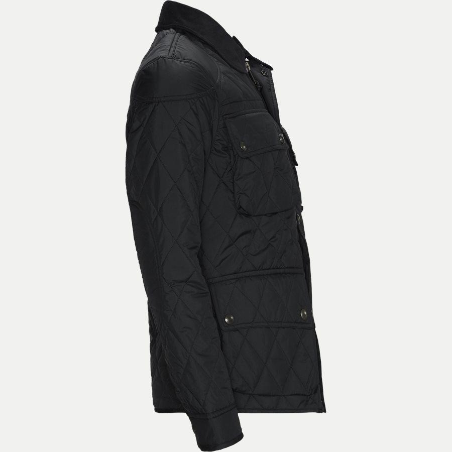 710730008 - Quilted jacket - Jakker - Regular - SORT - 4