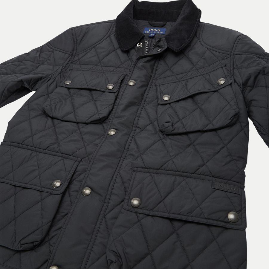 710730008 - Quilted jacket - Jakker - Regular - SORT - 6