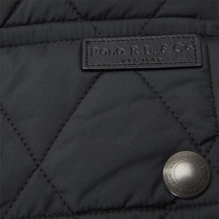 710730008 - Quilted jacket - Jakker - Regular - SORT - 7