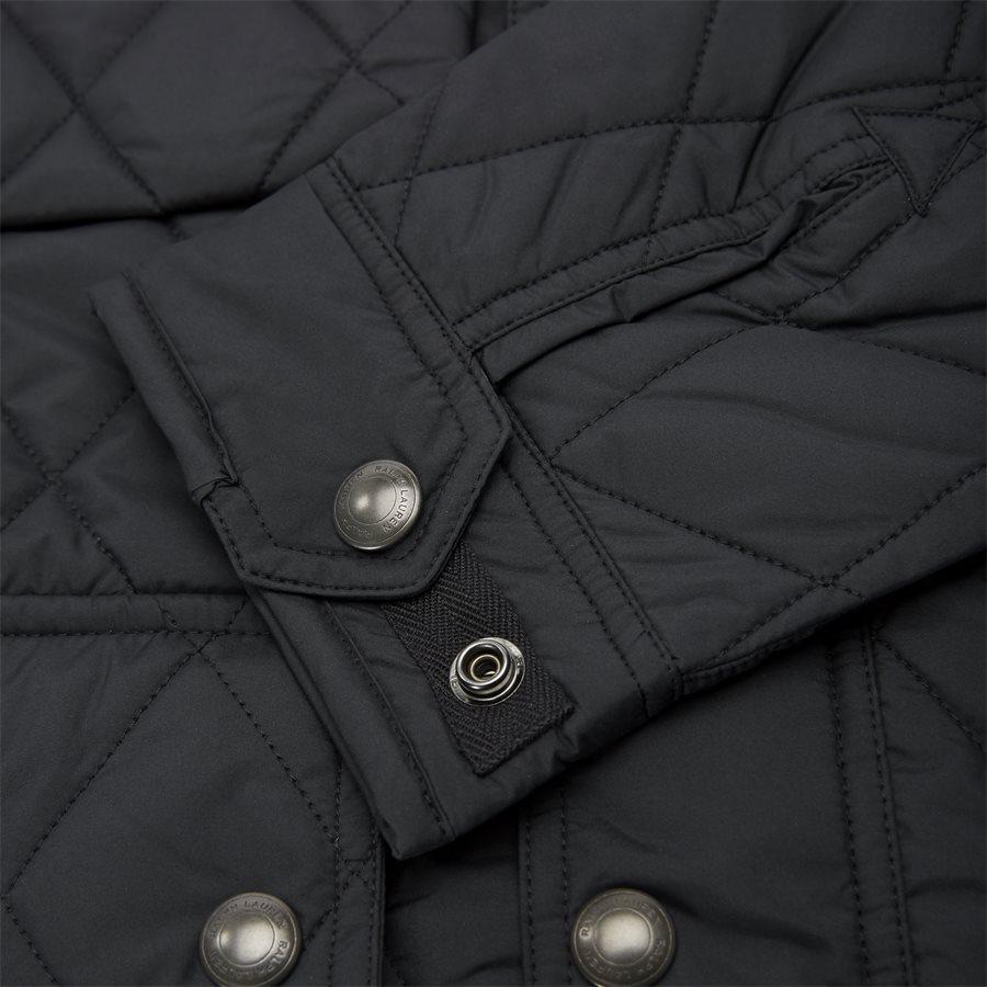 710730008 - Quilted jacket - Jakker - Regular - SORT - 8