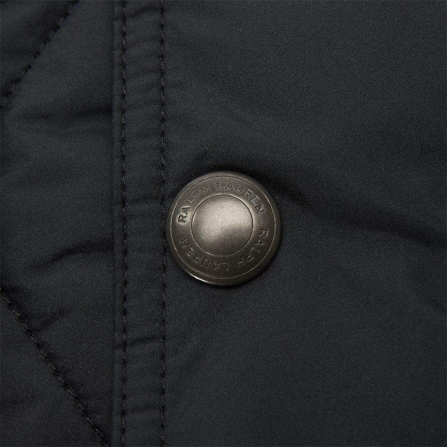 710730008 - Quilted jacket - Jakker - Regular - SORT - 9