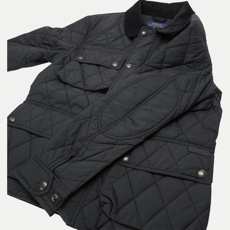 710730008 - Quilted jacket - Jakker - Regular - SORT - 10