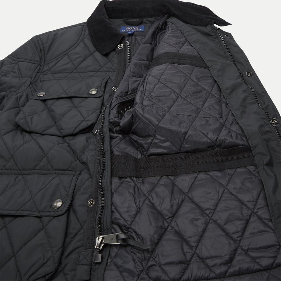 710730008 - Quilted jacket - Jakker - Regular - SORT - 11