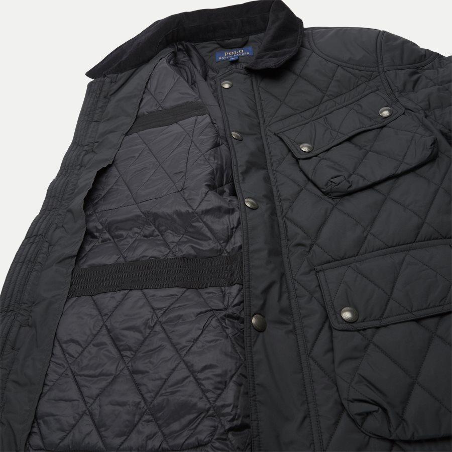 710730008 - Quilted jacket - Jakker - Regular - SORT - 12