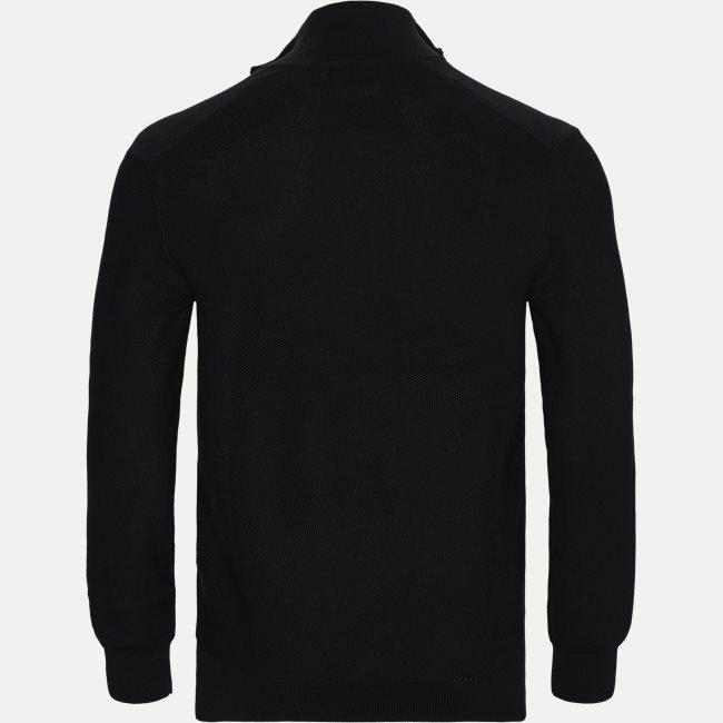 Cotton Half-Zip Striktrøje