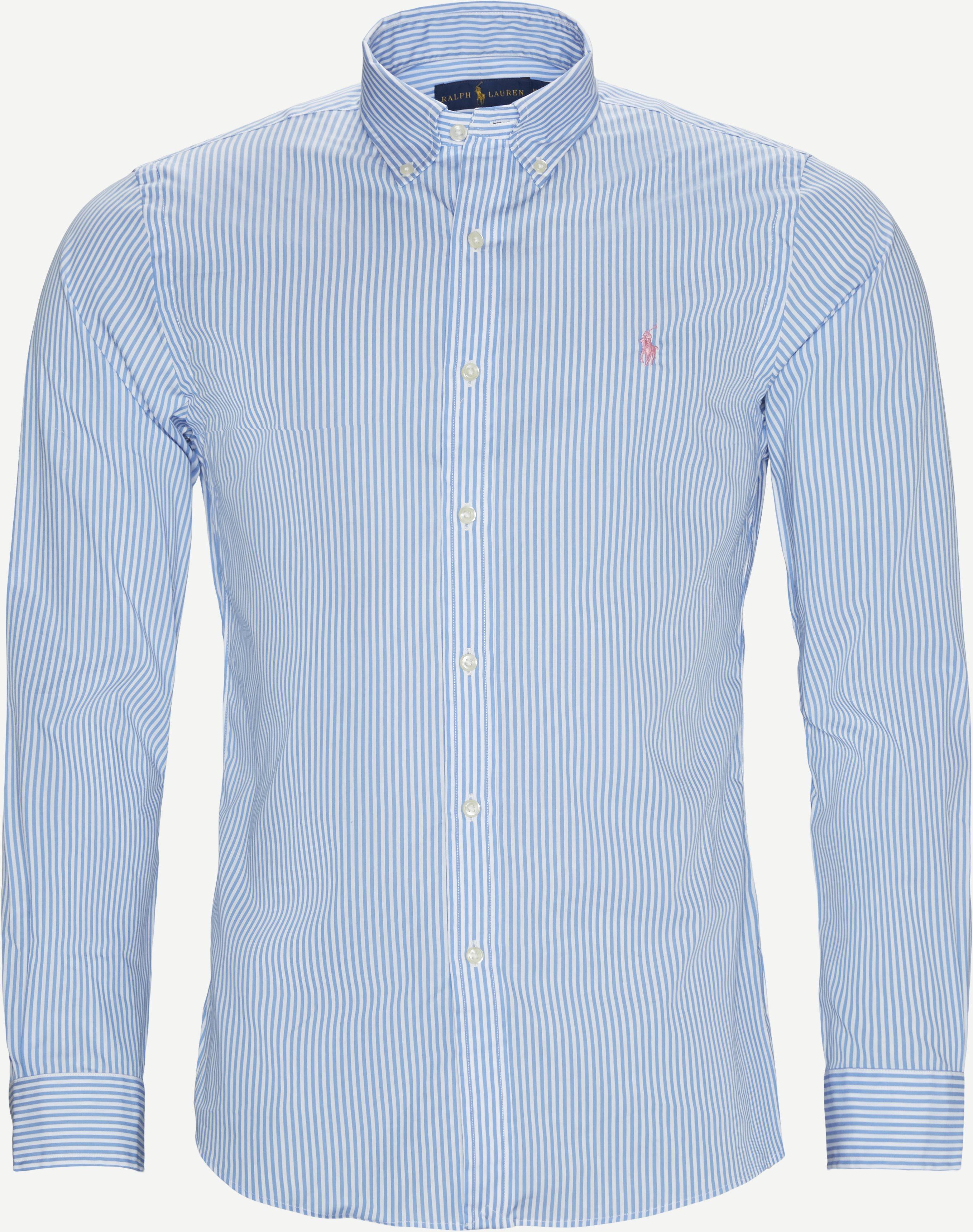 Skjortor - Slim fit - Blå