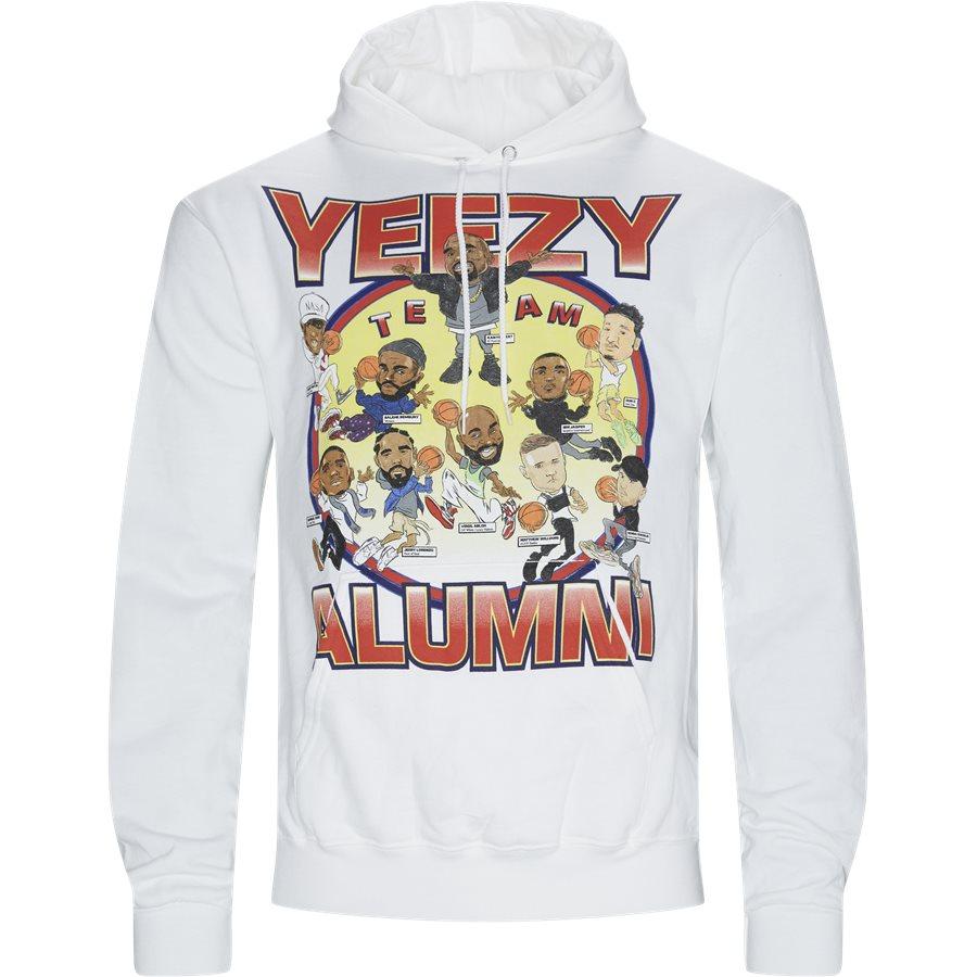 YEEZY ALUMNI HOODIE - Yeezi Alumni Hoodie - Sweatshirts - Regular - HVID - 1
