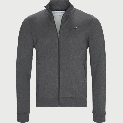 Zip Up Fleece Sweatshirt Regular | Zip Up Fleece Sweatshirt | Grå