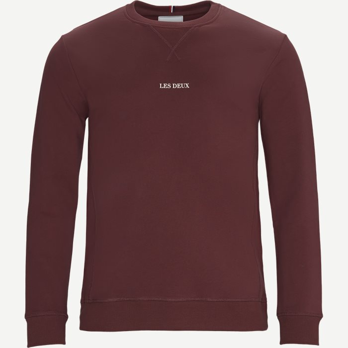 Lens Sweatshirt - Sweatshirts - Regular - Bordeaux