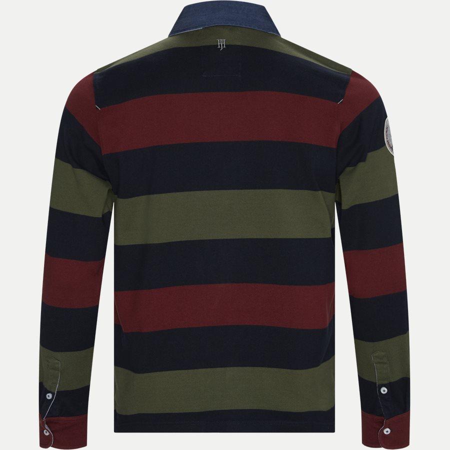 05069 STRIPED RUGGER - Striped Rugger Polo T-shirt - T-shirts - Regular - NAVY - 2
