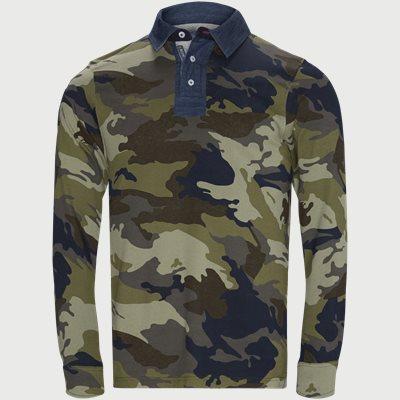 Camo Rugger Polo T-shirt Regular | Camo Rugger Polo T-shirt | Army