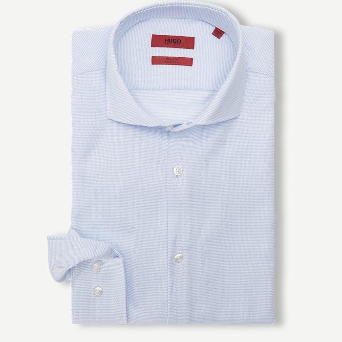 Kason Skjorte - Skjorter - Slim - Blå