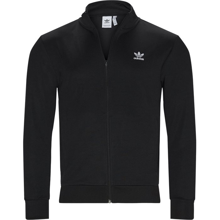 Essential TT Track Top - Sweatshirts - Regular - Sort