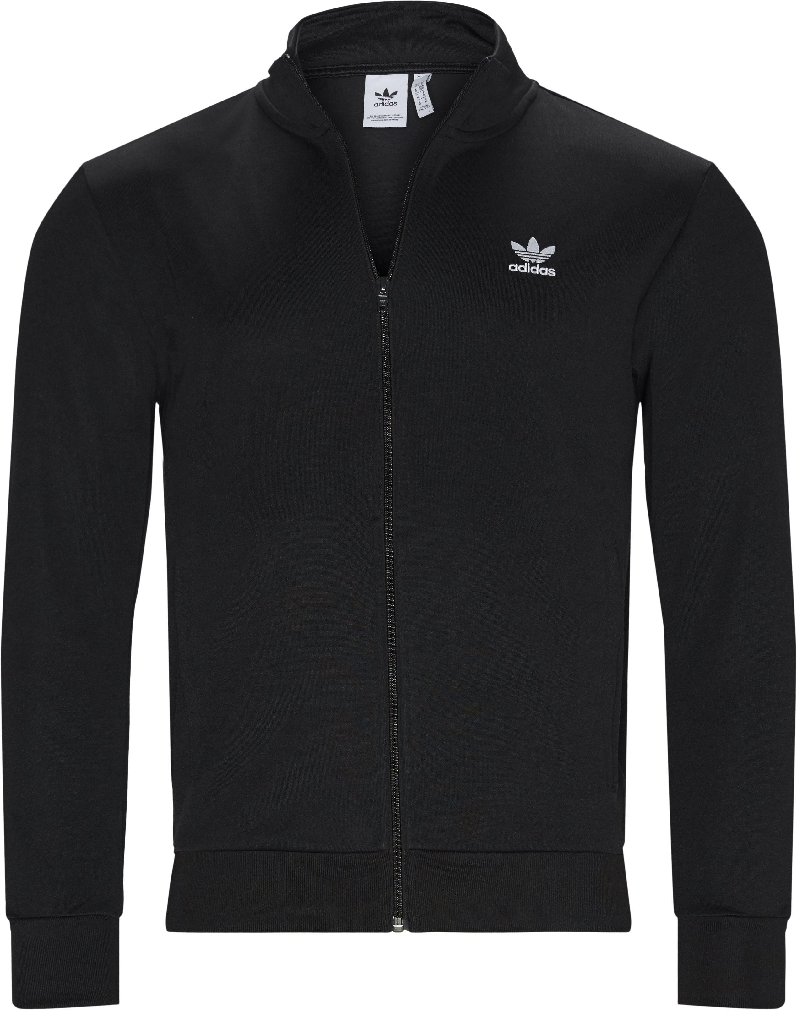 Essential TT Track Top - Sweatshirts - Regular - Sort
