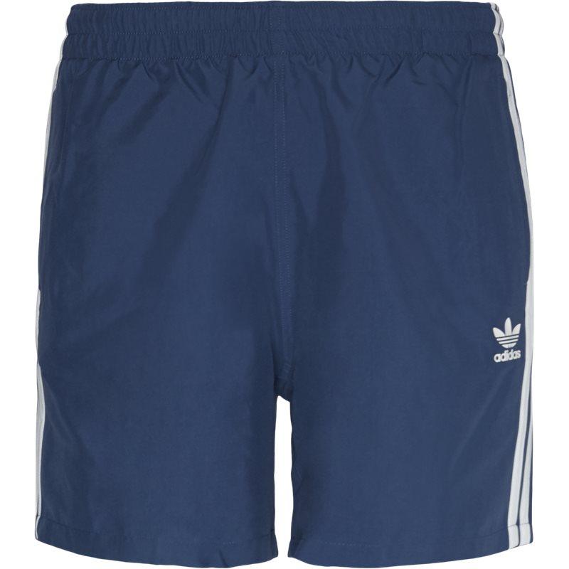 Adidas Originals 3 Stripe Swim Shorts Blå