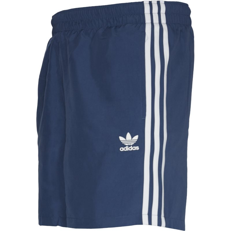 Image of   Adidas Originals 3 Stripe Swim Shorts Blå