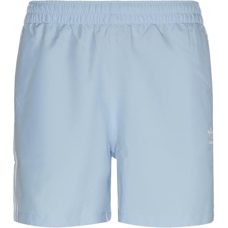 Billede af Adidas Originals 3 Stripe Swim Shorts Lysblå