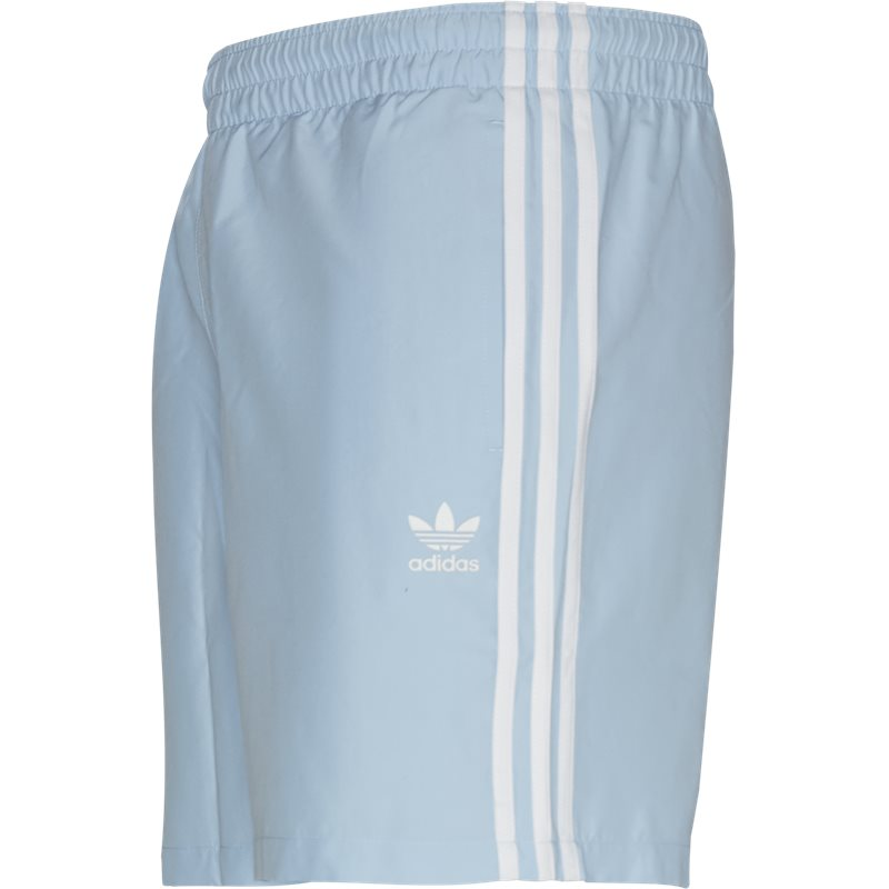 Image of   Adidas Originals 3 Stripe Swim Shorts Lysblå