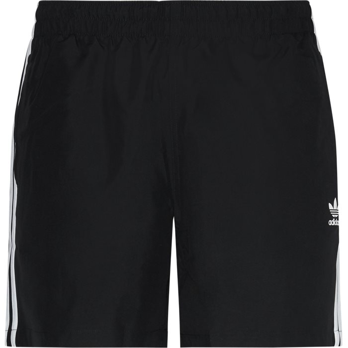 3 Stripe Swim Shorts - Shorts - Regular - Sort
