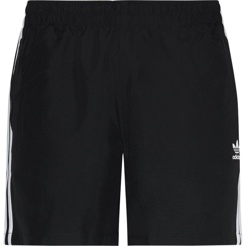 Billede af Adidas Originals 3 Stripe Swim Shorts Sort