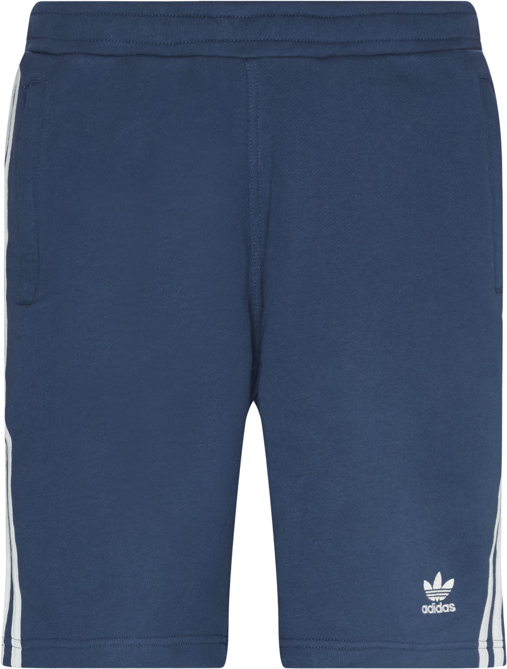 Shorts - Straight fit - Blå