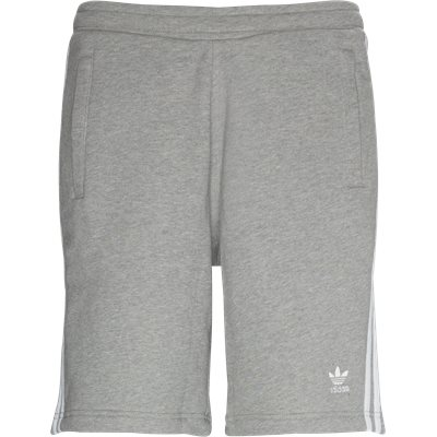 3 Stripe Shorts Straight fit | 3 Stripe Shorts | Grå