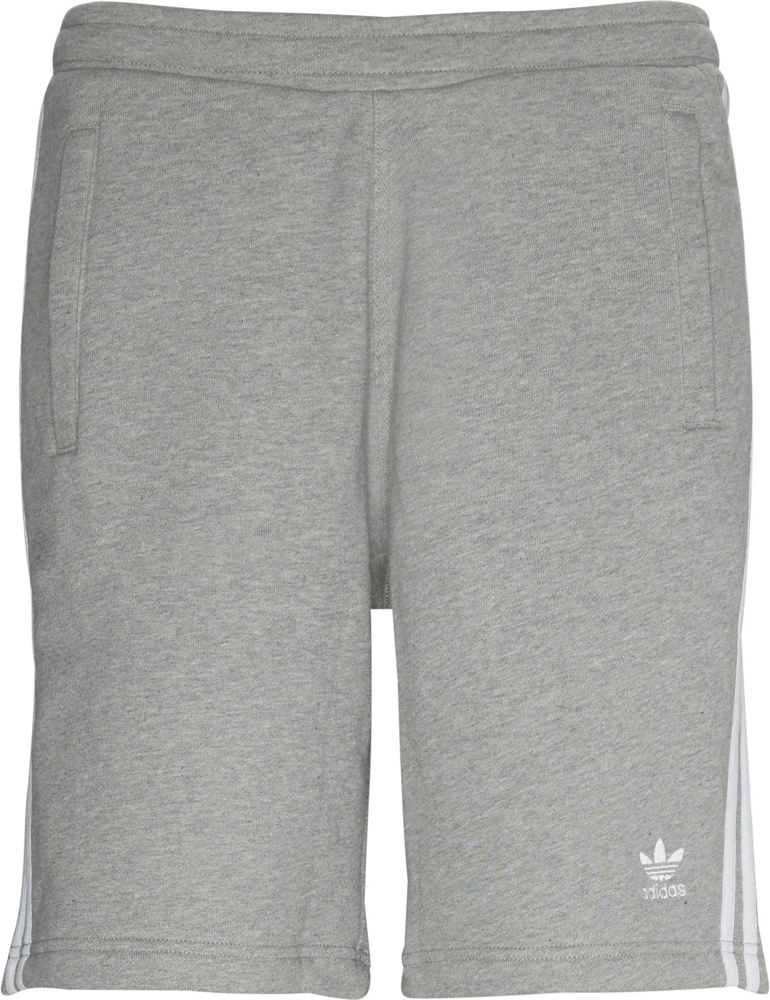 Shorts - Straight fit - Grå