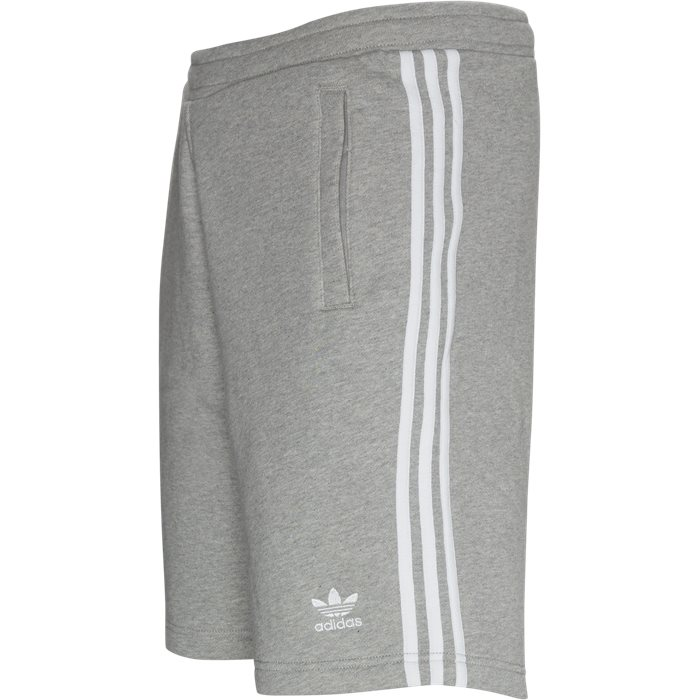 3 Stripe Shorts - Shorts - Straight fit - Grå