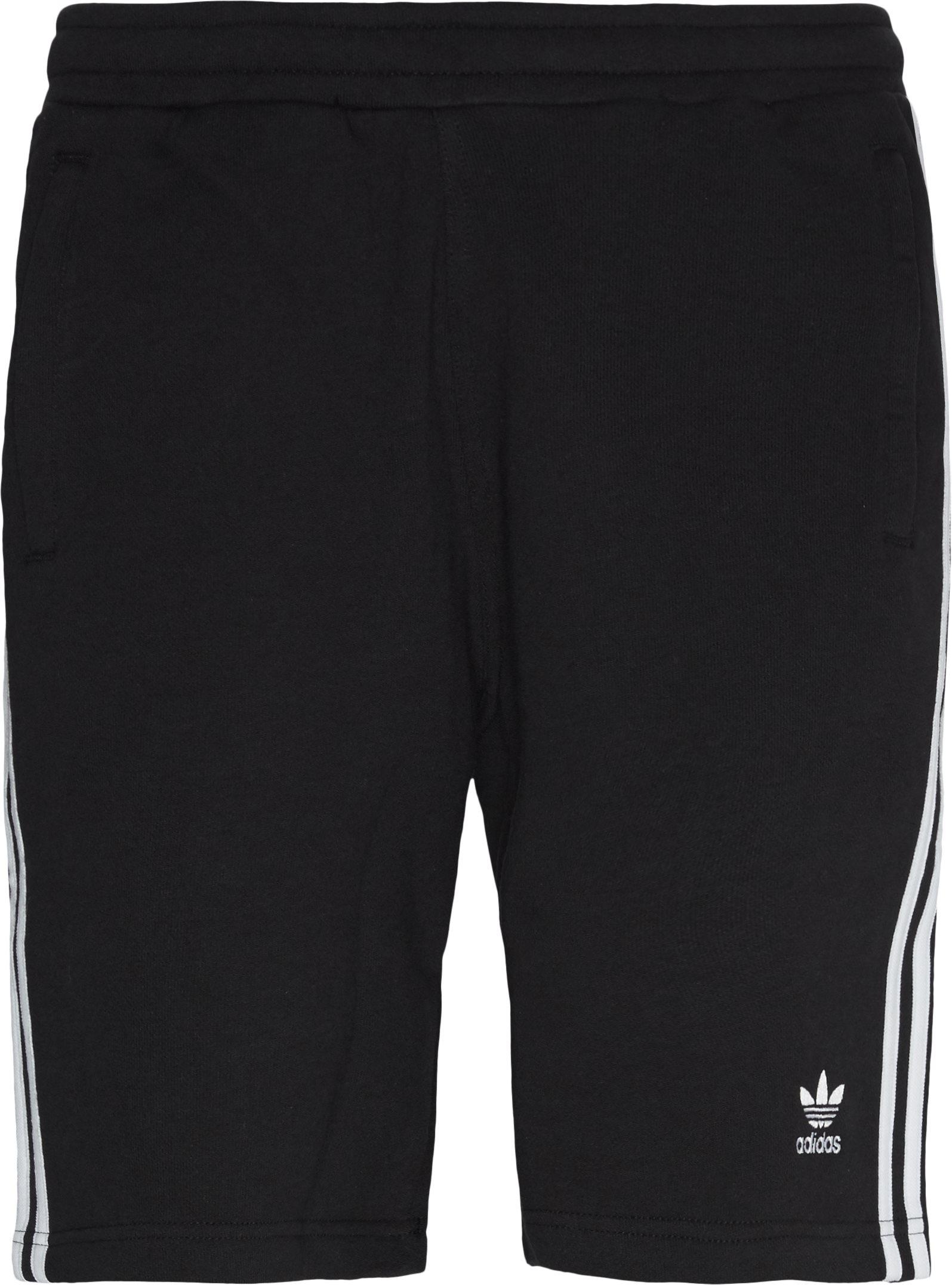 Shorts - Straight fit - Svart