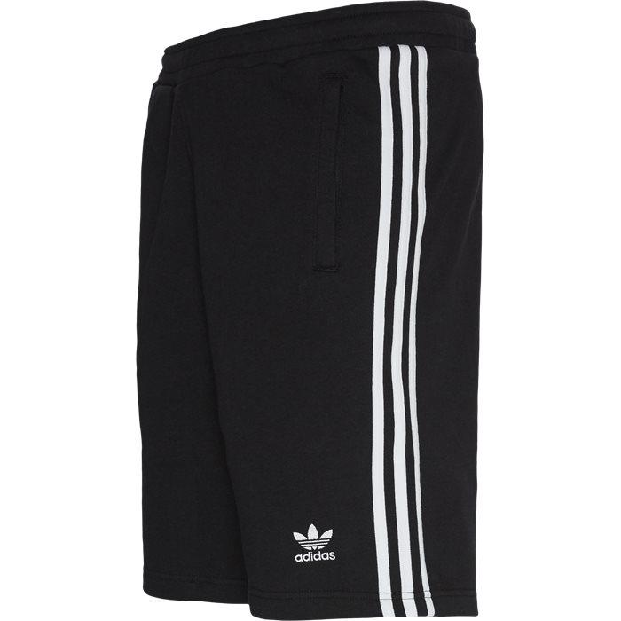 3 Stripe Shorts - Shorts - Straight fit - Sort