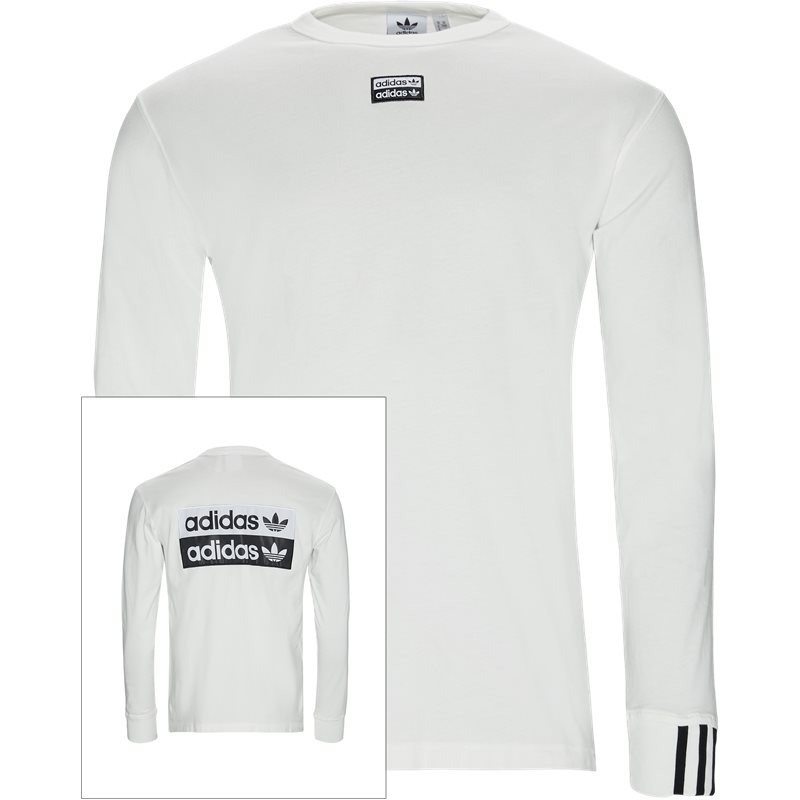 Image of   Adidas Originals F Ls Langærmet Tee Hvid