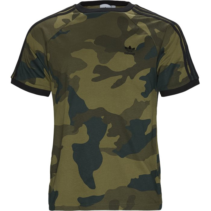 Camo Cali Tee - T-shirts - Regular - Army