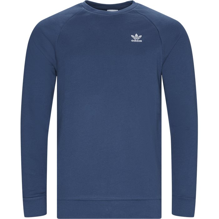 Essential Crew Neck Sweatshirt - Sweatshirts - Regular - Blå