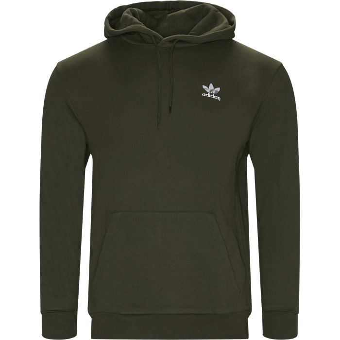 Essential Hoody - Sweatshirts - Regular - Grøn